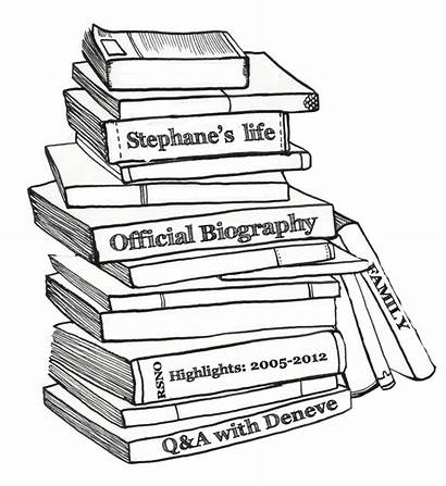 Books Stack Pile Sketch Drawing Clipart Stacked
