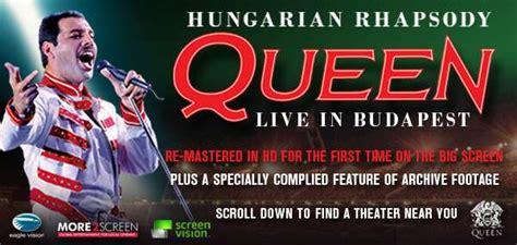 Queen lansează DVD-ul Hungarian Rhapsody - Live In ...