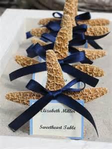 starfish wedding favors wedding decorations sugar starfish favors placecards table
