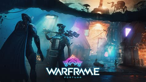 wallpaper warframe fortuna artwork poster  games
