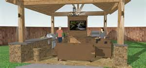 outdoor kitchen building plans outdoor kitchen plans blueprints pictures to pin on