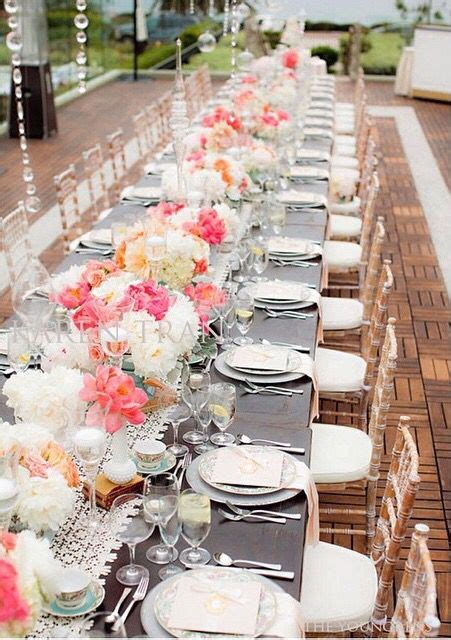 Coral Peony Tablescape Karen Tran Table decorations