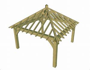 High Resolution Gazebo Frame #14 Timber Frame Gazebo Kit