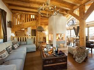 la deco style chalet joli place With les differents styles de decoration d interieur