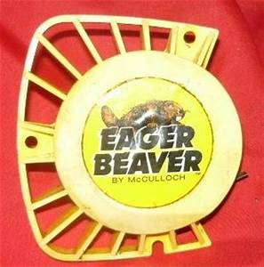 Mcculloch Eager Beaver 2 0 Chainsaw Yellow Starter  Recoil