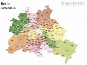 Berlin Plz Karte : berlin postleitzahlenkarte 5 stellig maps4office ~ One.caynefoto.club Haus und Dekorationen