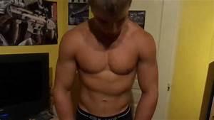 loic 15 years bodybuilder flexing
