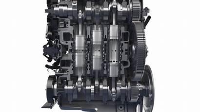 Engine Engines Piston Opposed Achates Cutaway Radical