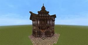 Japanese style furniture, minecraft nordic house old