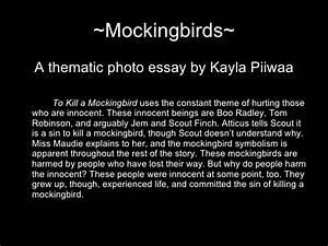 to kill a mockingbird essay prompts creative writing for game design  kill a mockingbird essay topics