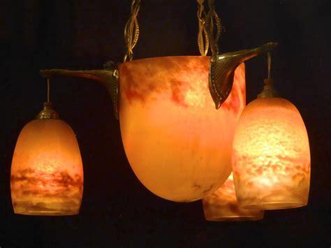 lustre pate de verre degu 201 antiquit 233 opio
