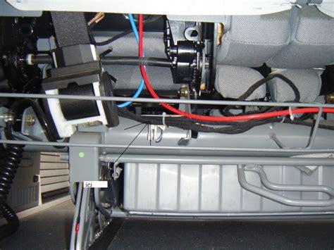 systeme electrique pour le remise 224 plat de la banquette electrique sur vmp