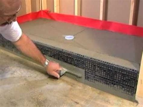 Laying Tile Redguard by 17 Best Ideas About Tile Shower Pan On Diy