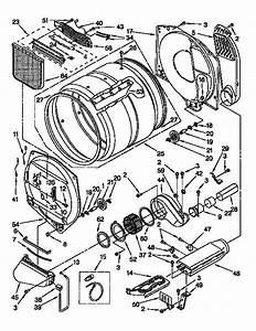 Kenmore Dryer Model 110 62952100 Wiring Diagram