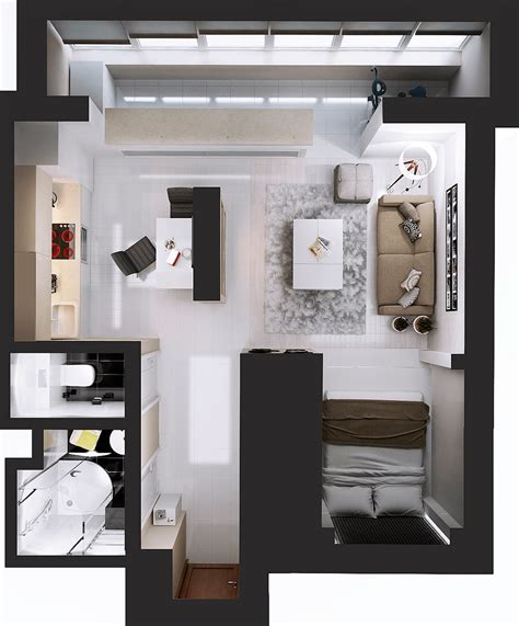 difference  studio apartment