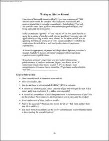 Effective Resume Formats by Effective Resume Templates Free Sles Exles