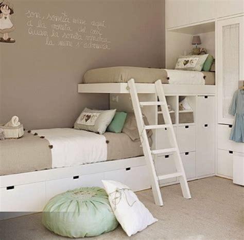 chambres d h es 10 habitaciones infantiles con literas pequeocio