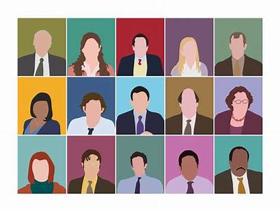 Office Characters Research Ux Methods