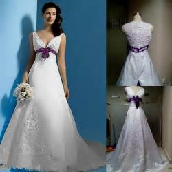 purple dresses for wedding white and purple wedding dress with sleeves naf dresses