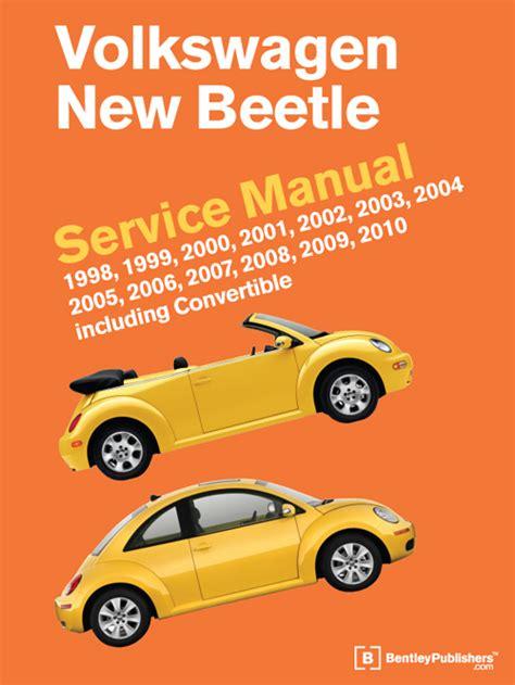 volkswagen  beetle service repair workshop manual