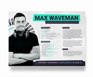 prodj dj press kit rider resume psd template by With dj biography template