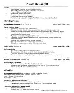 Aspiring Makeup Artist Resume by Makeup Artist Resume