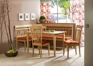 Corner Kitchen Table Set by Modern Corner Bench Breakfast Kitchen Nook Dining Set Ebay