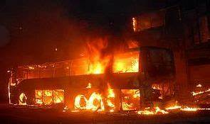 40 charred to death after Hyderabad-bound bus catches fire ...