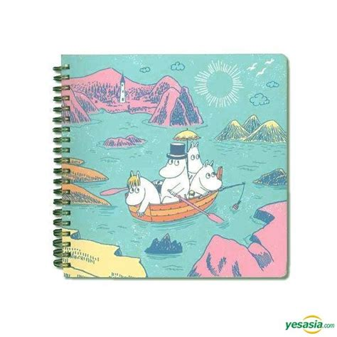 Boat Note Shipping by Yesasia Moomin Square Note Book Boat Toys Free