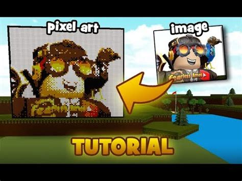 create pixel arts   picture tutorial