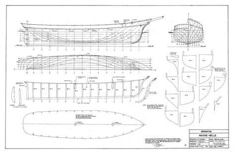 the brigantine maggie plans ship builder project06