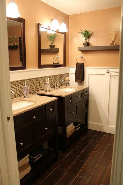 double vanity bathroom   idea   separate sinks