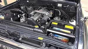 1990 Toyota Land Cruiser Hdj81 - 1hdt Engine