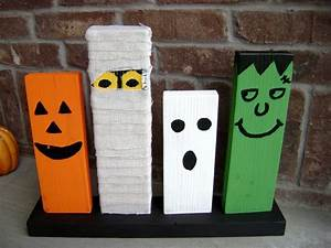 halloween wood crafts - craftshady - craftshady