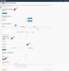» Cum sa creez o baza de date in cPanel?