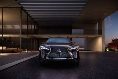 lexus ux crossover will go to production the lexus ux concept is a vision of suvs from the future