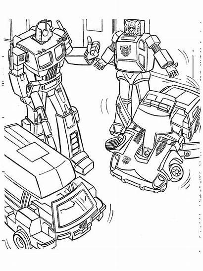 Transformers Kleurplaten Coloring Metroplex Wheeljack Prime Ironhide