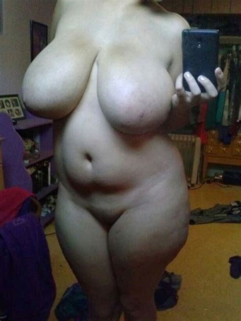 Super Chubby Amateur Takes A Naughty Selfie