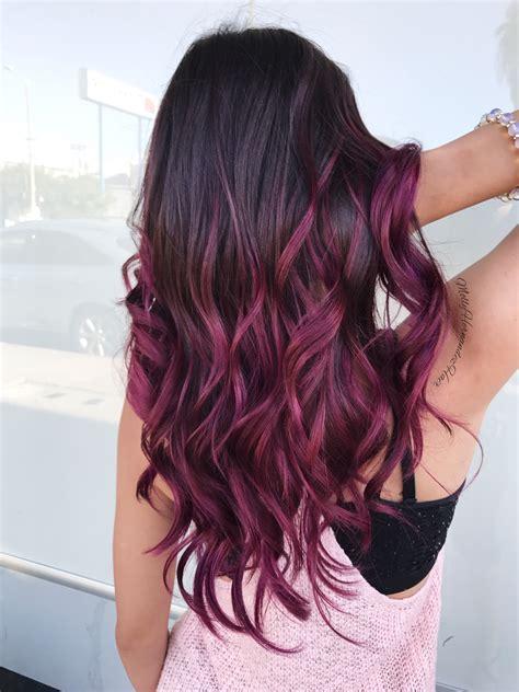 burgundy hair color shades  indian skin tones