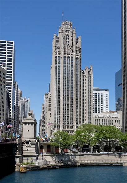 Tribune Chicago Tower Buildings Architecture Building Center