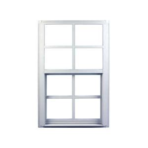 ply gem 31 25 in x 35 25 in single hung aluminum window