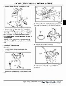 John Deere Gt225  235  235e  245 Lawn Garden Tractor Pdf