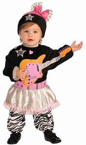 Kids 80s Baby Girl Punk Style Toddler Costume | $22.99 ...