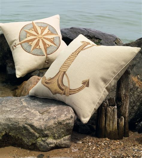 eastern accents nautical painted decorative pillows studio 773 by