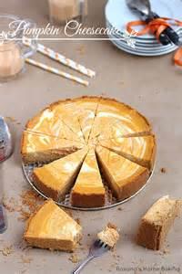 Marbled Pumpkin Cheesecake marbled pumpkin cheesecake recipe dishmaps