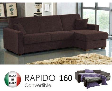 canapé lit pour couchage quotidien canape d 39 angle ouverture rapido dreamer convertible lit