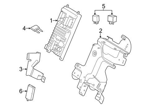 lr land rover fuse box bracket electrical