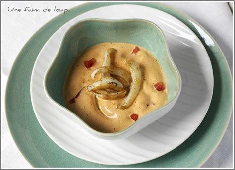 cuisiner de la seiche une faim de loup seiches à la crème de chorizo