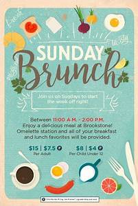 7 best images about brunch on pinterest champagne brunch photoshop tutorial and track for Flyers ideas for events