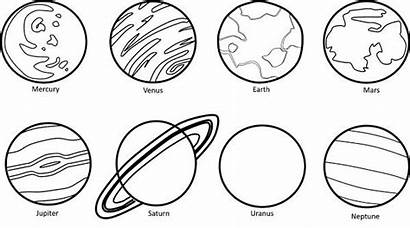 Planets Drawing Clipart Planet Mercury Mars Neptune